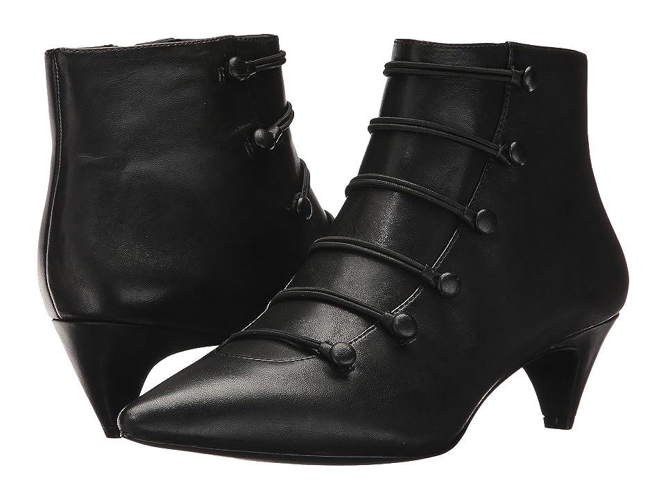 Nine West Zadan (Black Leather) Women