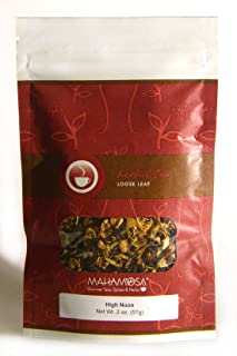 Sponsored Ad - Mahamosa High Noon Tea 2 oz, Herbal Herb Tea Blend (with lemon peel, orange peel, hibiscus, rose hips, mari...