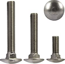 10x M10x120 10 x Boulons M10 x 120 t/ête ronde collet carr/é Vis TRCC avec /Écrou et Rondelle Longueurs 30-200mm choix