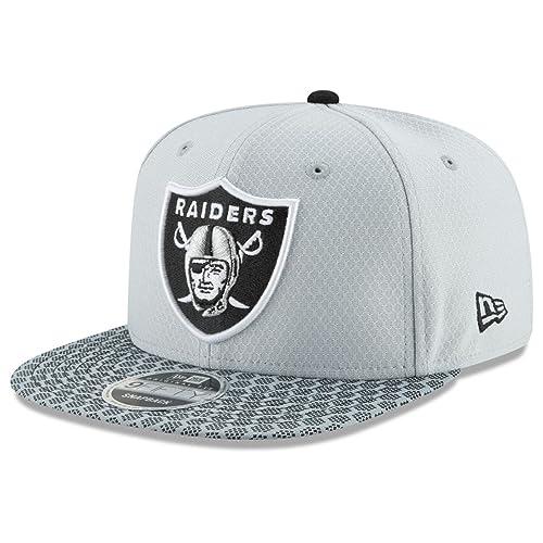 8399680db Oakland Raiders New Era 9FIFTY NFL 2017 Sideline Snapback Cap (One-Size  )