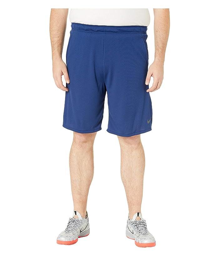 Nike Big Tall Dry Shorts 4.0 (Blue Void/Black) Men