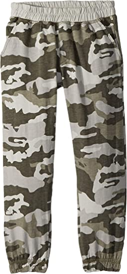 Soft Cotton Camo Print Lounge Pants (Toddler/Little Kids)