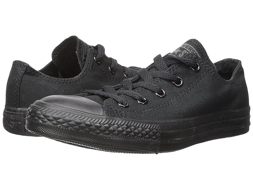 Converse Kids Chuck Taylor(r) All Star(r) Core Ox (Infant/Toddler) (Monochrome Black) Kids Shoes