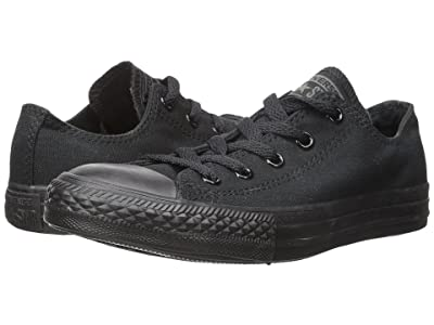 Converse Kids Chuck Taylor(r) All Star(r) Core Ox (Infant/Toddler) (Monochrome Black) Kids Shoes
