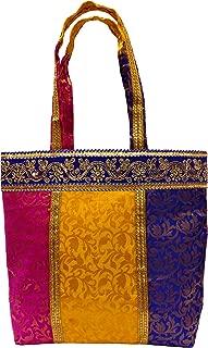 Ethnic Thai Indian Vintage Embroidered Hobo Shoulder Bag | Bohemian Gypsy Shoulder Bag | Shopping Bag | Beach Bag | Tote Bags