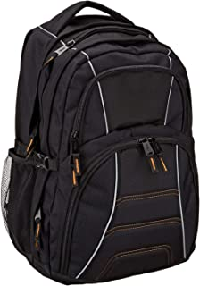 AmazonBasics Laptop Computer Backpack – Fits Up To 17 Inch Laptops
