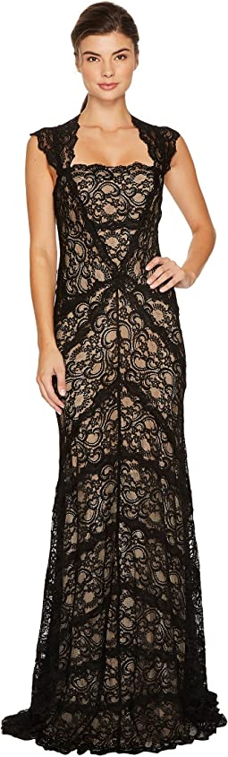 Eva Gown Stretch Lace