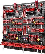 Gereedschapswand -1152 x 1170 mm - set 78 gereedschapshouders met gatenwand opslagsysteem gatenwand wandrek werkplaatsrek