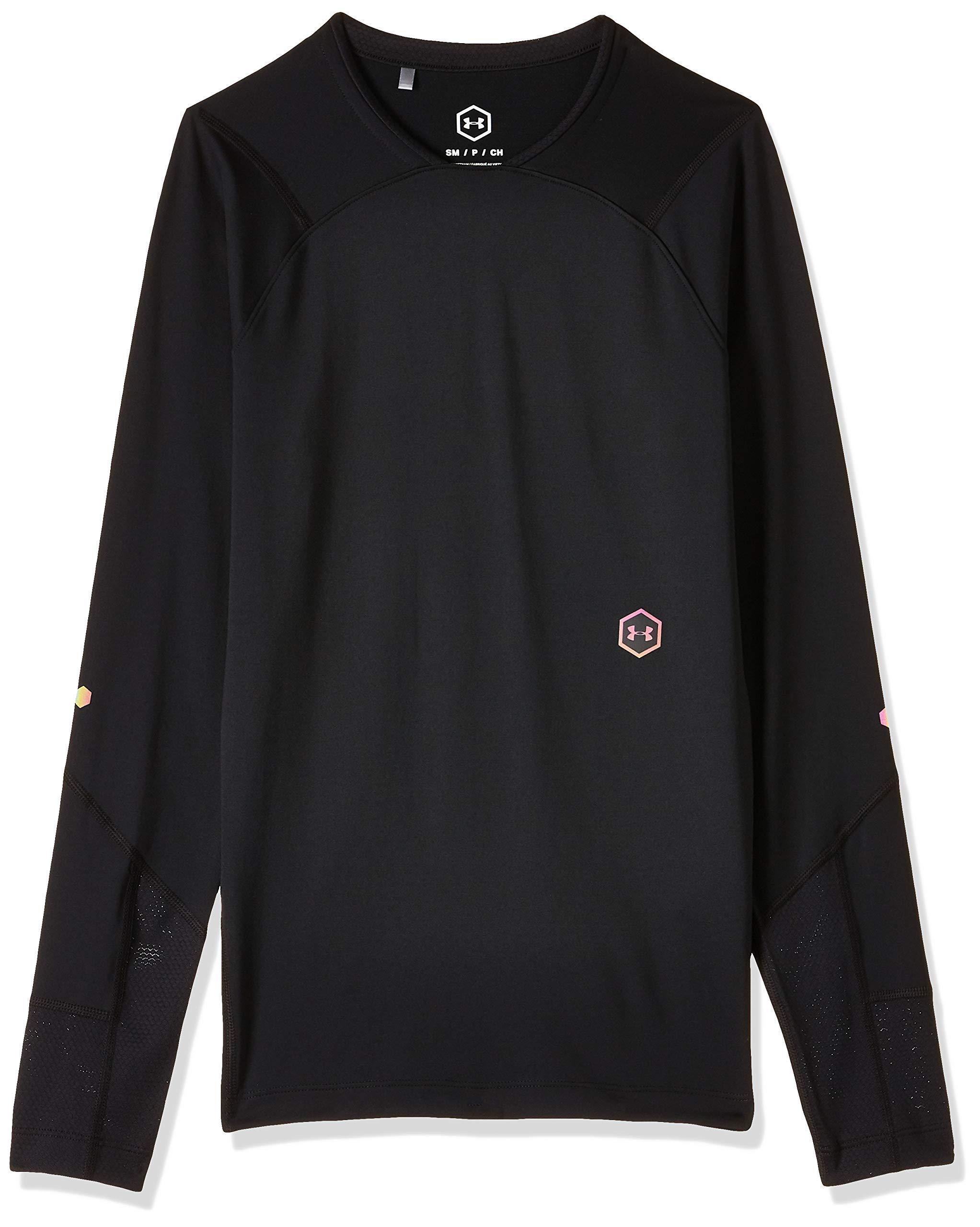Under Armour Herren UA Rush Kompressionsshirt, leichtes Langarmshirt mit Rush-Te