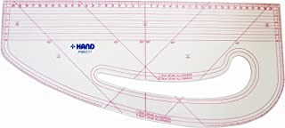 HAND Pattern Marking Ruler, Flexible, Non Removable Inner Marking