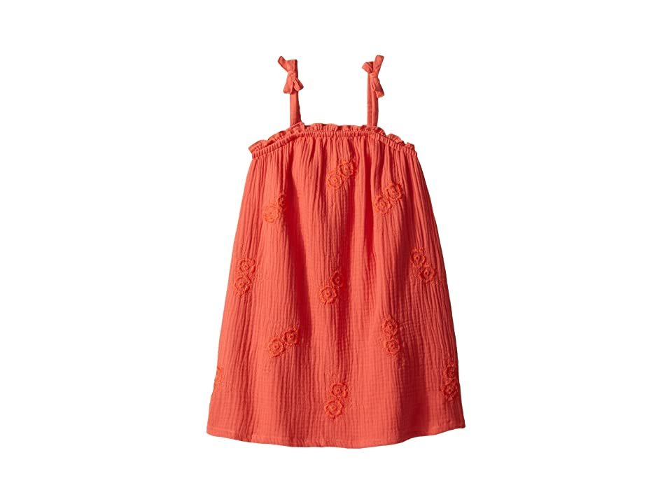 Lucky Brand Kids Ella Dress (Little Kids) (Persimmon) Girl