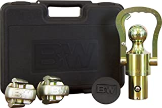 B&W Trailer Hitches B&W GNXA2061 OEM Puck System Gooseneck Ball & Safety Chain Kit for GM, Ford, Nissan
