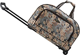 Luggage Rolling Duffle trolley bag travel bag tote Carry-On Upgraded version