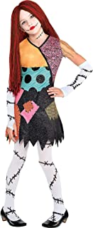 Sally Halloween Costume for Girls, The Nightmare Before Christmas, Small, Includes Accessories