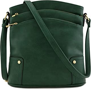Best emerald green leather bag Reviews