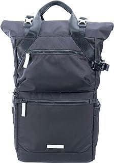 Mochila para 1-2 cámaras, 2-3 objetivos, portátil y accesorios, color negro