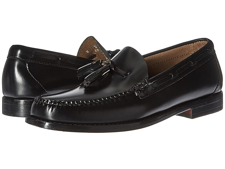 G.H. Bass & Co. Lexington Tassel Weejuns (Black Box Leather) Men