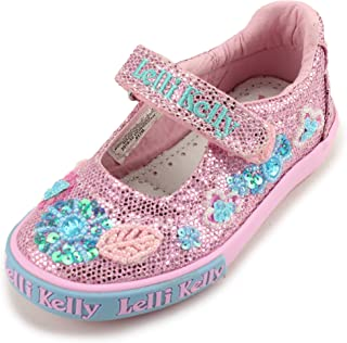 Girls Mary Jane Sparkle Shoes LK39080 (Toddler)
