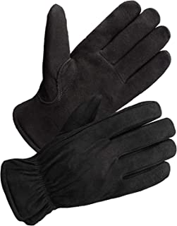 mens suede thinsulate gloves