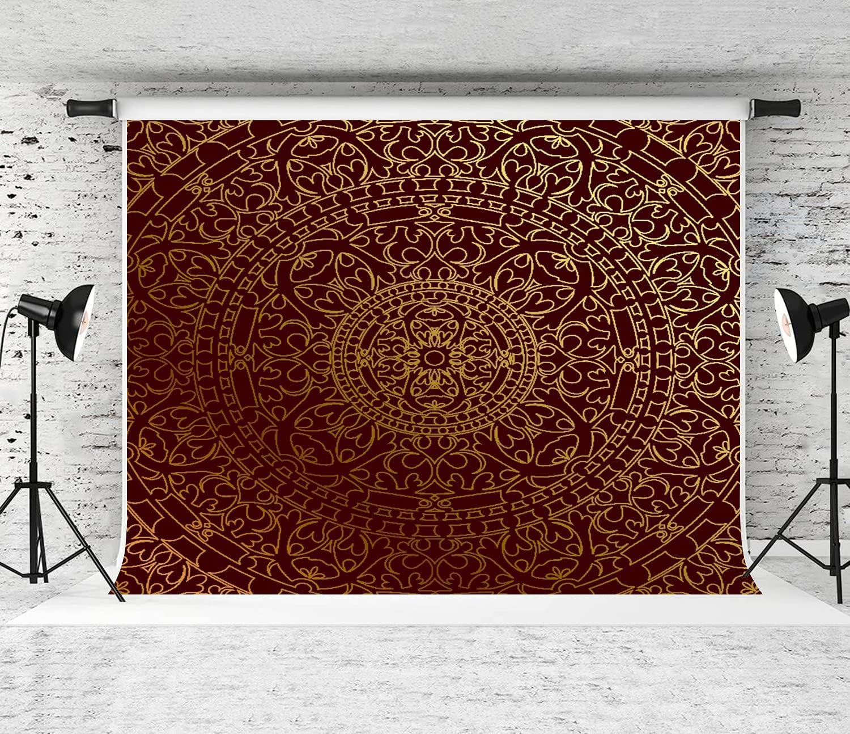 ZOANEN Photography Background Antique Popular popular Arabic Ins Rare Mandala Artwork