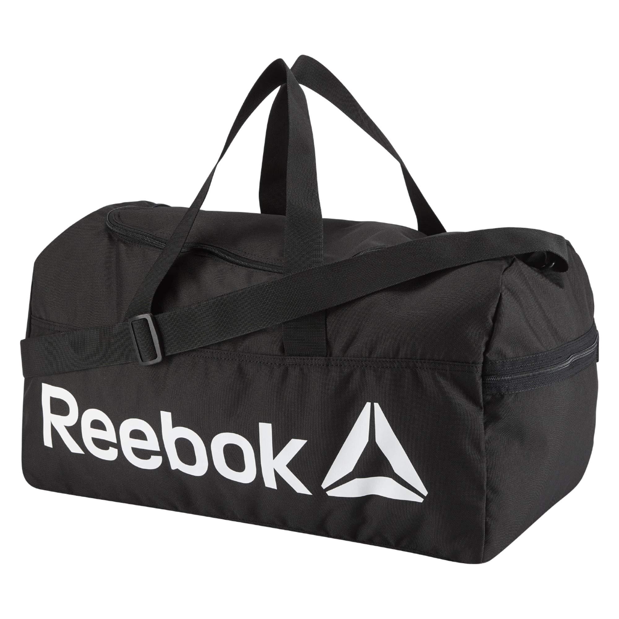 Reebok Act Core M Grip Sporttasche, 25 cm, 30 liters, Schwarz (Negro)