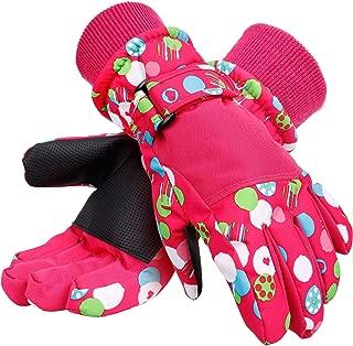 Kids Winter Gloves Waterproof Thinsulate Lining Snow Ski...