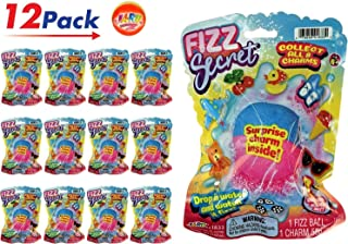Fizzy Bomb Fizz Secret Ball with Surprise Inside, Individually Packed (Pack of 12) and 1 Bouncy Ball from Pack of 12 | Item #1833-12. (Color : -, Size : -)