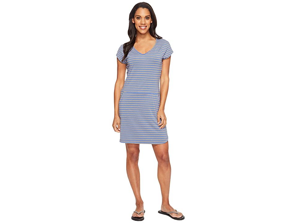 Lole Energic Dress (Dazzling Blue Stripe) Women