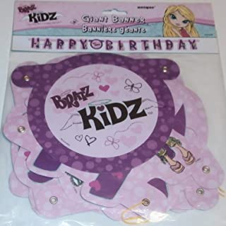 Bratz Kidz Giant Happy Birthday Banner