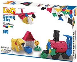 LaQ Basic 201 - 9 Models, 350 Pieces - Creative Construction Toy