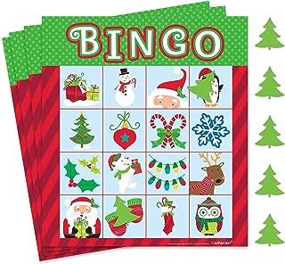Fun Christmas Bingo Game | Party Favor