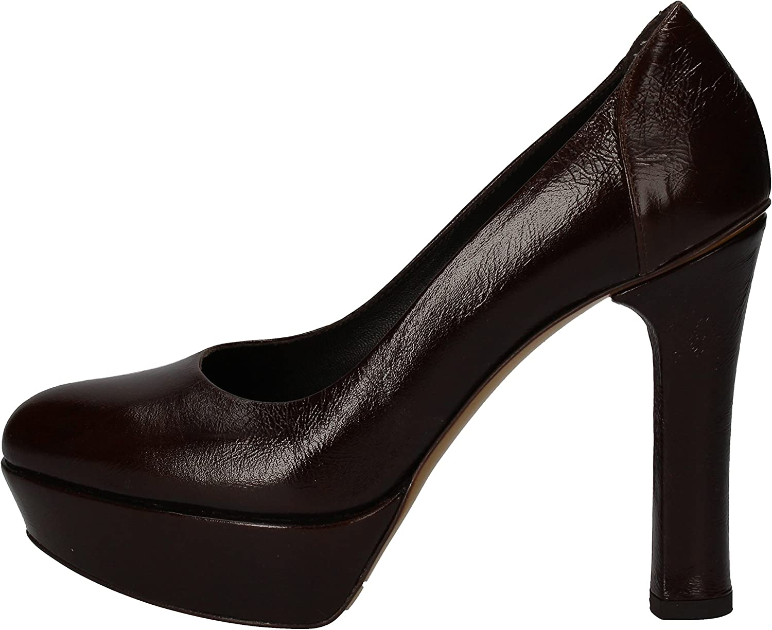 FABI Pumps-shoes Womens Leather Brown