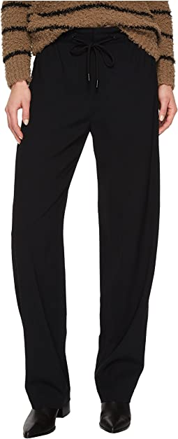 Vince - Drawstring Wide Leg Pants