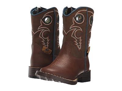 M&F Western Kids Dylan (Toddler) (Brown) Cowboy Boots