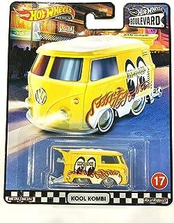 DieCast Hotwheels Boulevard 2020 Premium 1/64 Scale Mooneyes-Kool Kombi