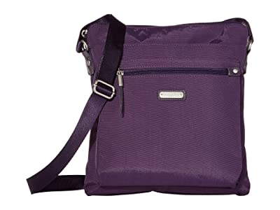 Baggallini New Classic Go Bagg with RFID Phone Wristlet (Grape Jelly) Bags