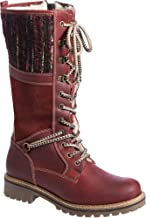 Women's Bos & Co Holland Wool-Lined Waterproof Leather Boots