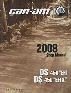2008 CAN-AM ATV DS 450 EFI SHOP SERVICE MANUAL P/N 219 100 264 (645)