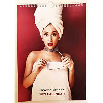 Amazon.com: Calendario de pared Ariana Grande 2021 A4: Office Products