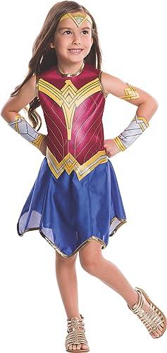 Rubie's Costume Bathomme vs Superhomme  Dawn of Justice Wonder femme Value Costume, petit