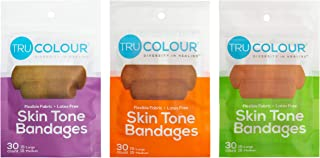 Tru-Colour Skin Tone Bandages: Variety 3-Pack (90-Count; Multi)