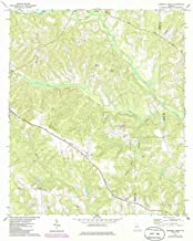 YellowMaps Tazewell South GA topo map, 1:24000 Scale, 7.5 X 7.5 Minute, Historical, 1971, Updated 1986, 26.8 x 22 in