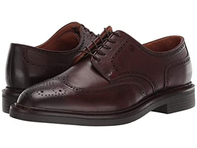 Polo Ralph Lauren Asher Wing Tip (Polo Brown Calf Leather) Men