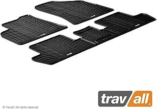 Travall Mats Gummifußmatten Kompatibel Mit Peugeot 3008 (2008 2016) 5008 (2009 2017) TRM1071   Allwettermatten Nach Maß Fussmatten Set