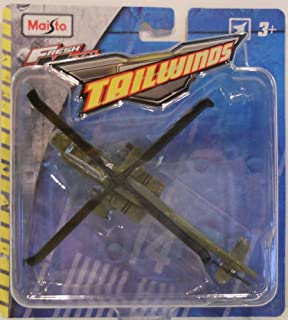 Maisto Tailwinds Boeing AH-64 Apache (1:87 Scale) Die Cast Attack Helicopter