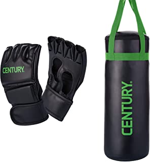 Century Martial Arts Youth Boxing MMA Training Bag and Kid Glove Combo Set