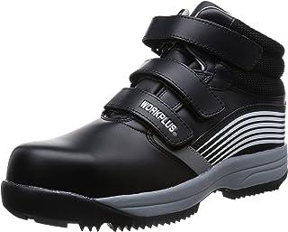 [ミドリ安全] 安全作業靴 JSAA認定 雪上用 簡易防水 スノーシューズ ハイカット プロスニーカー MPS155 メンズ