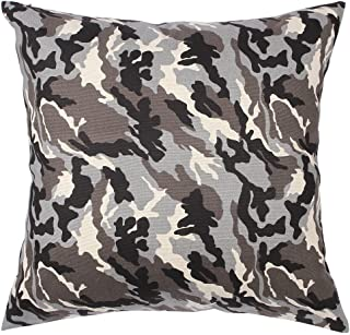 TangDepot174; Camouflage Throw Pillow Cover, Camo Pillow Cases - 100% Cotton Canvas, Handmade - Many Colors & Sizes Avaliable - (18