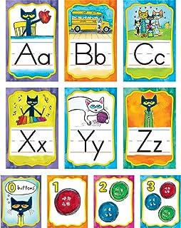 Edupress EP63950 Pete the Cat Alphabet Bulletin Board