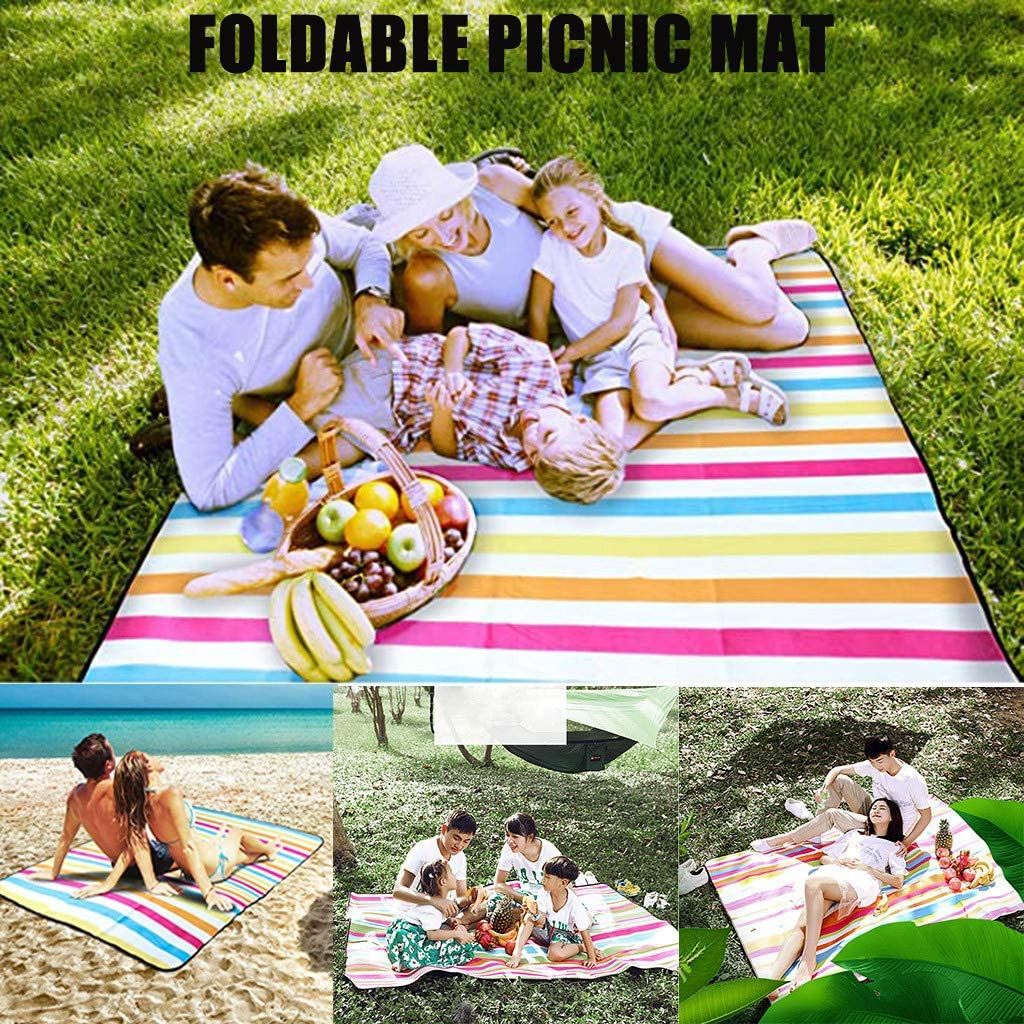 Famlhewo Picnic Outdoor Blanket Park Fees free Color Beach Ranking TOP5 Str Mat